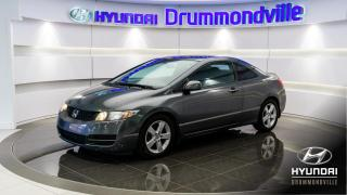 Used 2010 Honda Civic EX-L + TOIT + CRUISE + A/C + WOW !! for sale in Drummondville, QC