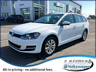 Used 2016 Volkswagen Golf Sportwagen Trendline Manual - 1 owner for sale in PORT HOPE, ON