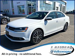 Used 2014 Volkswagen Jetta TDI Highline - 0% Financing for sale in PORT HOPE, ON