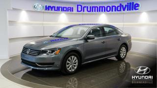 Used 2014 Volkswagen Passat TRENDLINE + GARANTIE + MAGS + A/C + WOW for sale in Drummondville, QC