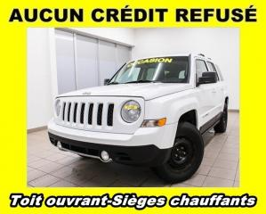 Used 2013 Jeep Patriot SPORT 4X4 SIÈGES CHAUFFANTS *TOIT OUVRANT* for sale in Mirabel, QC