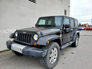 Used 2012 Jeep Wrangler SAHARA CUIR 4X4 *2 TOITS* SIEGES CHAUF *BLUETOOTH for sale in Mirabel, QC