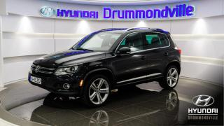 Used 2014 Volkswagen Tiguan HIGHLINE R-LINE + DYNAUDIO + MAGS + WOW for sale in Drummondville, QC