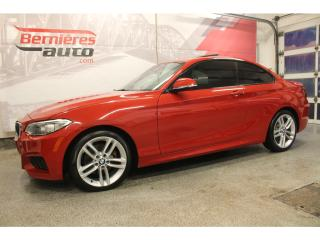 Used 2015 BMW 228i M SPORT PACKAGE for sale in Lévis, QC