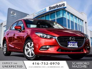 Used 2018 Mazda MAZDA3 GX|REAR CAMERA|LOW KM|1 OWNER for sale in Scarborough, ON