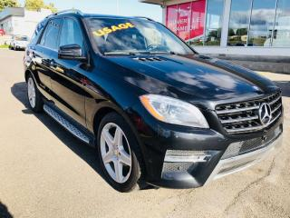 Used 2015 Mercedes-Benz ML-Class ML305 BLUETECH for sale in Lévis, QC