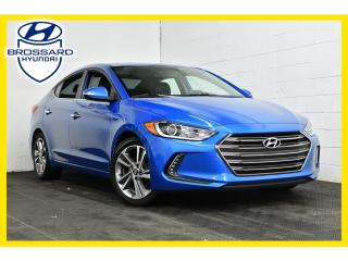 Used 2017 Hyundai Elantra LIMITED TOIT CUIR NAV MAGS for sale in Brossard, QC