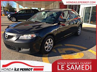 Used 2009 Mazda MAZDA3 Berline GX, IDÉALE POUR ÉTUDIANT (ES)) for sale in Île-Perrot, QC