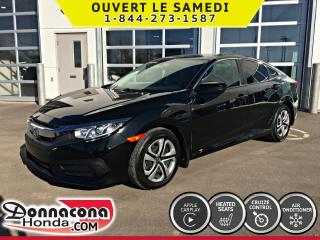 Used 2016 Honda Civic LX *GARANTIE 10 ANS/ 200 000KM* for sale in Donnacona, QC