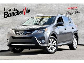 Used 2015 Toyota RAV4 Limited AWD Navigation cuir 2 tons Splendide for sale in Boucherville, QC