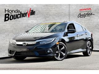 Used 2016 Honda Civic Touring Cuir Toit Navigation Full Full for sale in Boucherville, QC
