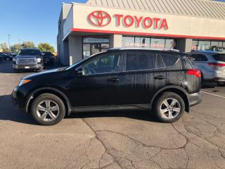Used 2015 Toyota RAV4 XLE auto Ac Alloys rack roof in black/black for sale in Cambridge, ON