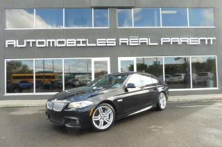 Used 2013 BMW 550i XDRIVE - M PACK - TECHNO PACK - EXECUTIVE PACK - for sale in Québec, QC
