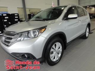 Used 2013 Honda CR-V AWD TOURING Navi Cuir Toit Mags for sale in St-Jean-Sur-Richelieu, QC