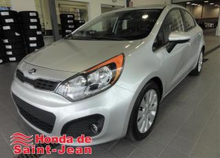 Used 2013 Kia Rio Hayon 5 portes, EX Automatique A/C for sale in St-Jean-Sur-Richelieu, QC