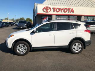 Used 2015 Toyota RAV4 LE auto Ac roof rack power pkg for sale in Cambridge, ON