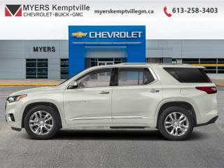 Used 2019 Chevrolet Traverse Premier  - Sunroof - Cooled Seats for sale in Kemptville, ON