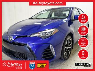 Used 2017 Toyota Corolla XSE Navigation, Toit ouvrant for sale in Québec, QC