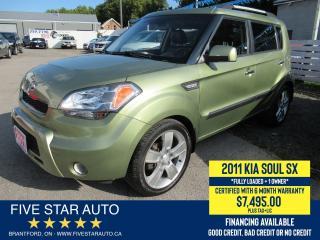 Used 2011 Kia Soul 4u SX *One Owner* Certified w/ 6 Month Warranty for sale in Brantford, ON