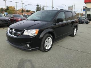 Used 2019 Dodge Grand Caravan Crew Plus TV/DVD for sale in Sherbrooke, QC