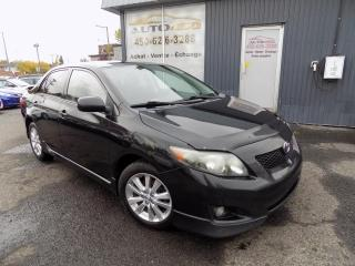 Used 2010 Toyota Corolla ***S,CLEAN CARPROOF,MAGS,A/C*** for sale in Longueuil, QC