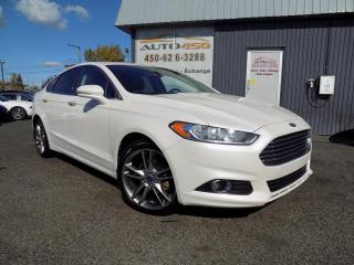 Used 2013 Ford Fusion ***TITANIUM,4X4,CUIR,TOIT,NAV*** for sale in Longueuil, QC