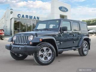 Used 2018 Jeep Wrangler JK Unlimited Sahara for sale in Carman, MB