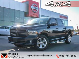 Used 2017 RAM 1500 Sport  - Bluetooth -  SiriusXM -  Fog Lamps - $261 B/W for sale in Kanata, ON
