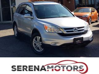 Used 2010 Honda CR-V EX-L | 4WD | LEATHER | SUNROOF | NO ACCIDENTS for sale in Mississauga, ON