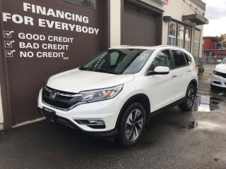 Used 2016 Honda CR-V Touring for sale in Abbotsford, BC