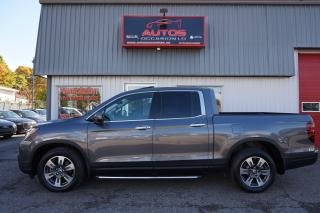 Used 2018 Honda Ridgeline TOURING AWD CUIR TOIT GPS NAV CAMERA 33 452 KM !! for sale in Lévis, QC