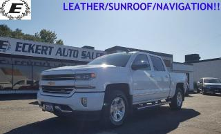 Used 2016 Chevrolet Silverado 1500 LTZ Z71/LEATHER/SUNROOF/NAVIGATION!! for sale in Barrie, ON