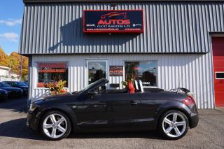 Used 2012 Audi TT CABRIOLET QUATTRO 2.0T PREMIUM PLUS AUTO 59 070 KM for sale in Lévis, QC