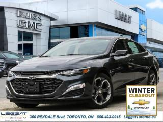 New 2019 Chevrolet Malibu RS  - Cruise Control for sale in Etobicoke, ON