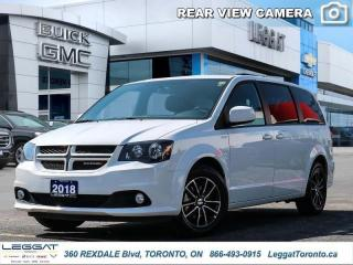 Used 2018 Dodge Grand Caravan GT  - Bluetooth -  Leather Seats for sale in Etobicoke, ON