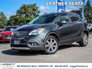 Used 2016 Buick Encore Premium  - Leather Seat -  Park Assist for sale in Etobicoke, ON