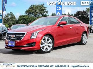 Used 2015 Cadillac ATS Sedan STANDARD RWD  - Low Mileage for sale in Etobicoke, ON