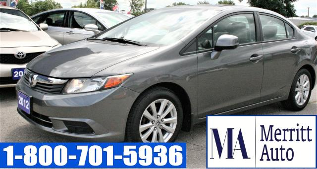 2012 Honda Civic EX | ONLY $115 BIWEEK CERTIFIED| 1 YR WARRANTY INC