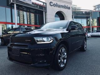 Used 2019 Dodge Durango R/T AWD HEMI - Local/No Accident/Nav/Sunroof/No Dealer Fees for sale in Richmond, BC