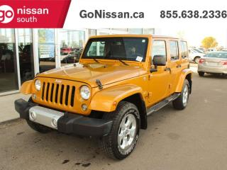 Used 2014 Jeep Wrangler Unlimited NAVIGATION BACKUP CAMERA BLUETOOTH for sale in Edmonton, AB