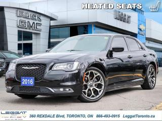 Used 2016 Chrysler 300 S  - Leather Seats -  Bluetooth for sale in Etobicoke, ON