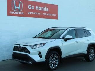 Used 2019 Toyota RAV4 LIMITED AWD for sale in Edmonton, AB