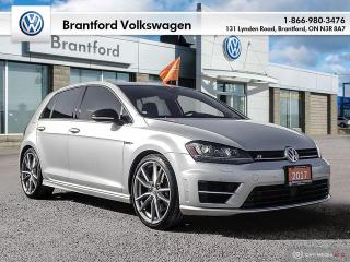 Used 2017 Volkswagen Golf R 5-Dr 2.0T 4MOTION at DSG for sale in Brantford, ON