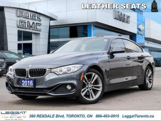 Used 2016 BMW 4 Series 428i xDrive  - Sunroof -  Leather Seats for sale in Etobicoke, ON