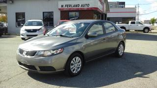 Used 2011 Kia Forte Berline 4 portes, boîte automatique, LX for sale in Sherbrooke, QC