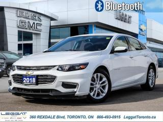 Used 2018 Chevrolet Malibu LT  - Aluminum Wheels -  Bluetooth for sale in Etobicoke, ON
