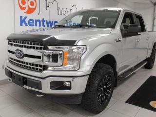 Used 2018 Ford F-150 XLT XTR 4x4 ecoboost with heated power seats, keyless entry and back up cam for sale in Edmonton, AB