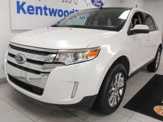 Used 2013 Ford Edge SEL AWD with NAV, sunroof, heated power leather seats, back up cam, keyless entry for sale in Edmonton, AB