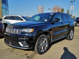 New 2020 Jeep Grand Cherokee Summit / Panoramic Sunroof / GPS Navigation / Back Up Camera for sale in Edmonton, AB