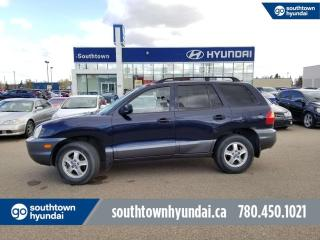 Used 2003 Hyundai Santa Fe GL/POWER OPTIONS/CRUISE CONTROL for sale in Edmonton, AB